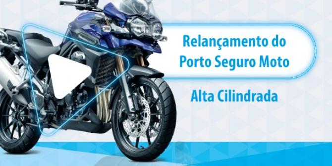 Porto Seguro relança o seu seguro de motocicletas